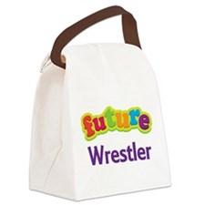 Future Wrestler Canvas Lunch Bag