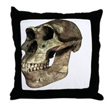 Australopithecus afarensis, artwork - Throw Pillow
