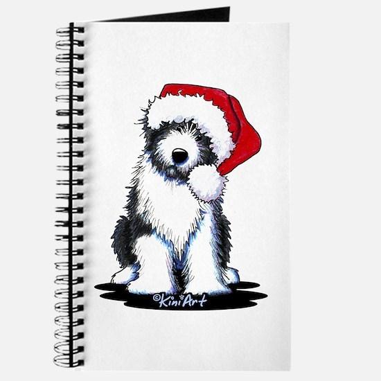 Bearded Collie Santa Journal