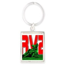 rv2red Portrait Keychain