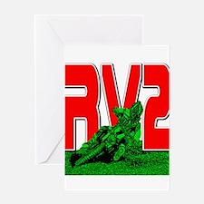rv2red Greeting Card