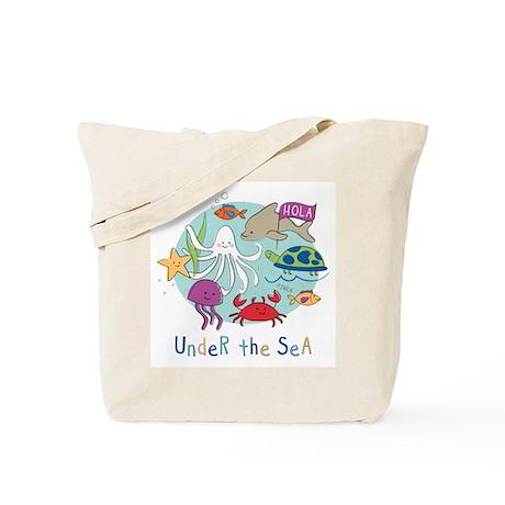 Under The Sea Friends Tote Bag