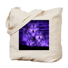wolf pack Tote Bag