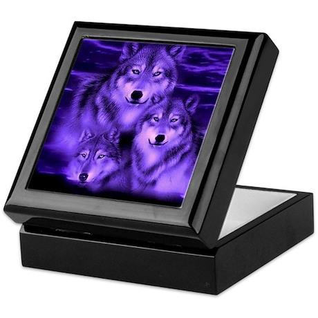 wolf pack Keepsake Box