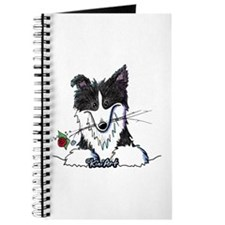 Border Collie Caricature Journal