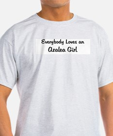 Azalea Girl Ash Grey T-Shirt