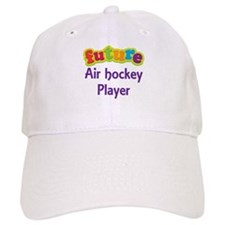 Future Air Hockey Player Baseball Cap