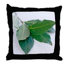 Bay leaves - Throw Pillow