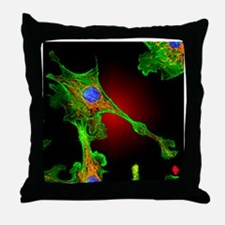 Cell structure - Throw Pillow