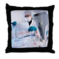 Forensic scientist - Throw Pillow