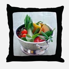 Fruit and vegetables - Throw Pillow