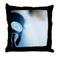 Blood pressure measurement - Throw Pillow