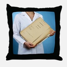 Medical records - Throw Pillow