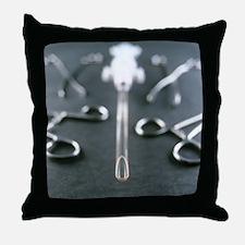 Manual vacuum abortion equipment - Throw Pillow