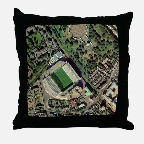 Chelsea's Stamford Bridge stadium, aerial - Throw