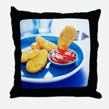 Chicken nuggets - Throw Pillow