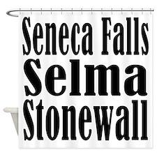 Seneca Falls Selma Stonewall Shower Curtain