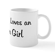 Auburn Girl Mug