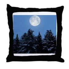 Full Moon - Throw Pillow