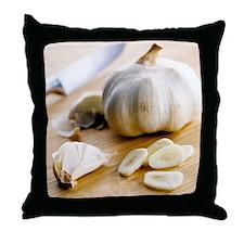 Garlic - Throw Pillow