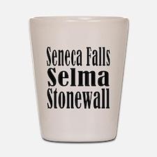 Seneca Falls Selma Stonewall Shot Glass