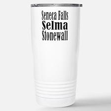 Seneca Falls Selma Stonewall Stainless Steel Trave