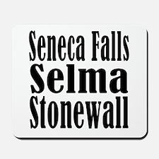 Seneca Falls Selma Stonewall Mousepad