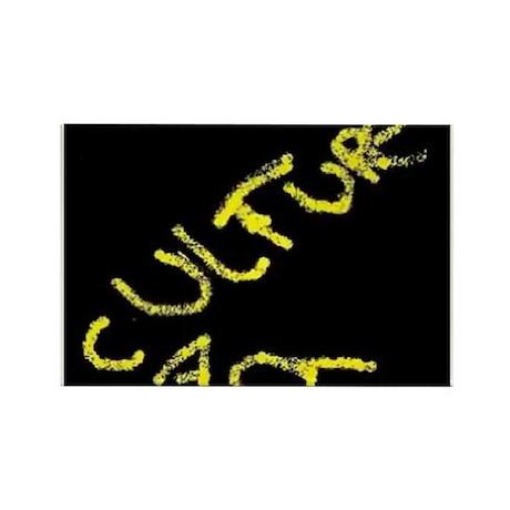 Culture Cast Rectangle Magnet