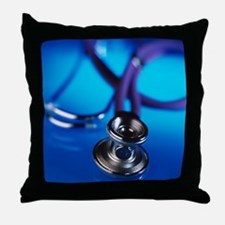Stethoscope - Throw Pillow