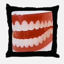 Toy teeth - Throw Pillow
