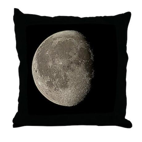 Waning gibbous Moon - Throw Pillow