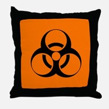 Biohazard sign - Throw Pillow
