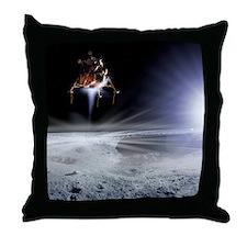 Apollo 11 Moon landing, computer artwork - Throw P