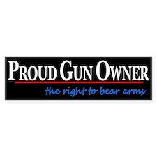 Proud Gun Owner Car Sticker