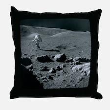 Apollo 17 astronaut - Throw Pillow