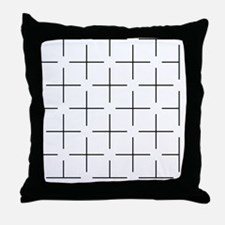 Ehrenstein illusion - Throw Pillow