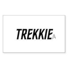 Trekkie Star Trek Sticker (Rectangle)