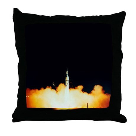 Explorer 1 launch - Throw Pillow