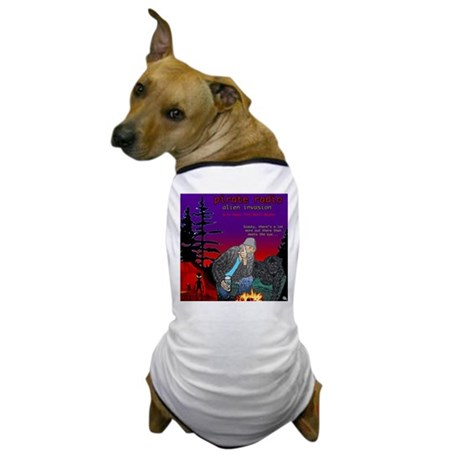 PIRATE RADIO Alien Invasion Crescent City, CA Dog
