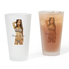 Destinee Milian Drinking Glass