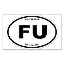 Free Upstate (B&W) Decal