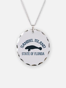 Sanibel Island - Manatee Design. Necklace