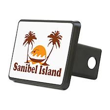 Sanibel Island - Palm Trees Design. Hitch Cover