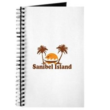 Sanibel Island - Palm Trees Design. Journal