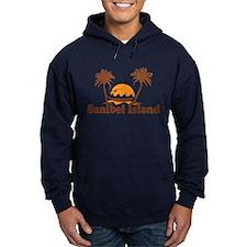 Sanibel Island - Palm Trees Design. Hoodie