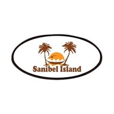 Sanibel Island - Palm Trees Design. Patches