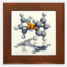 Ferrocene molecule - Framed Tile