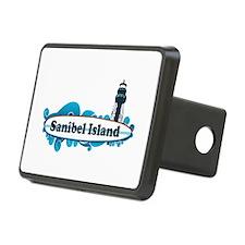 Sanibel Island - Surf Design. Hitch Cover