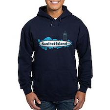 Sanibel Island - Surf Design. Hoody