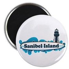 Sanibel Island - Surf Design. Magnet